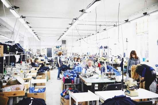 Фабрика изготовления мужской одежды