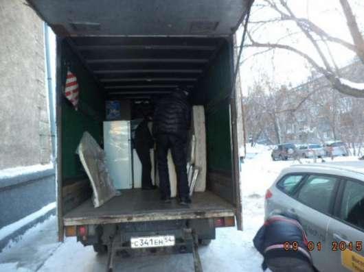 Переезды, газель, грузчики, сборка мебели, демонтаж в Новосибирске Фото 4