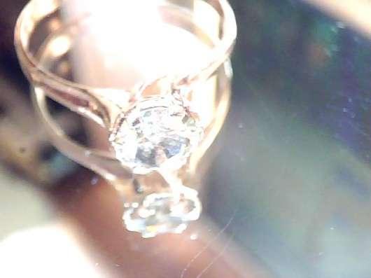 Кольцо золото 585 бриллиант 0.66 карат