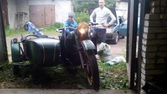 Мотоцикл К750 в отличном состоянии, на ходу в Санкт-Петербурге Фото 1