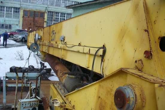 Установка автокрана 16-25 тонн