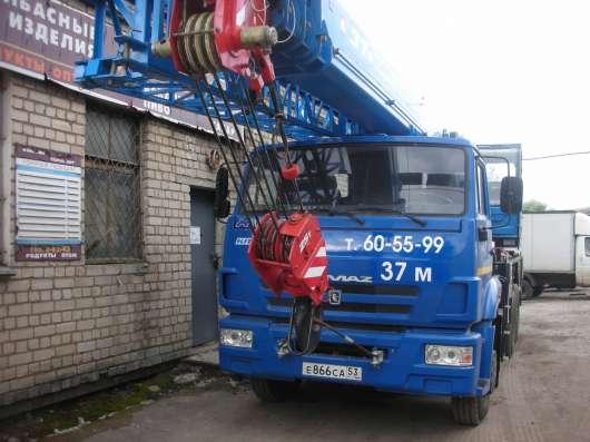 Услуги автокрана в Великом Новгороде Фото 1