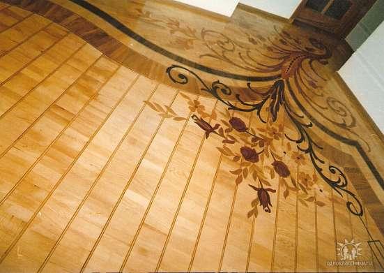 Изготовление лестниц и укладка паркет в г. Актау Фото 2