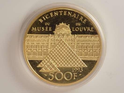Уникальная монета DU Musee louvre 1993 года