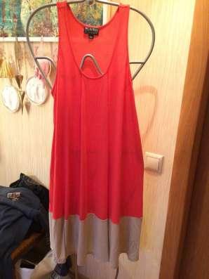 Платье сарафан розовое тркотажне