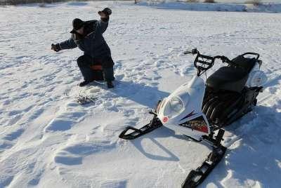 снегоход русская механика в Костроме Фото 2