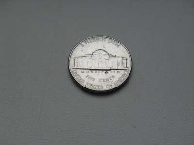 Монета 5 центов США 1994 год