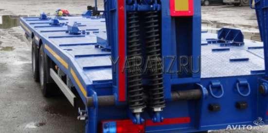 Прицеп для перевозки ГНБ, низкорамный 10,7 тонн. 7,8 метров