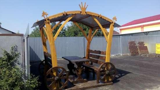 Беседки, столы лавочки для сада в Краснодаре Фото 3