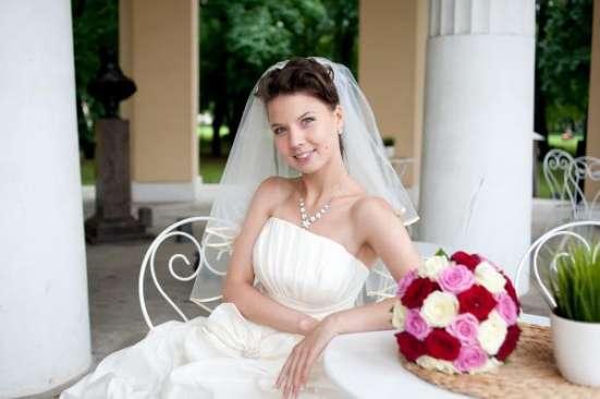Шикарное Свадебное платье + фата