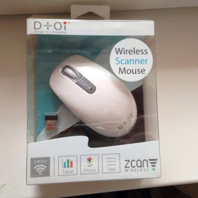 Мышка-сканер