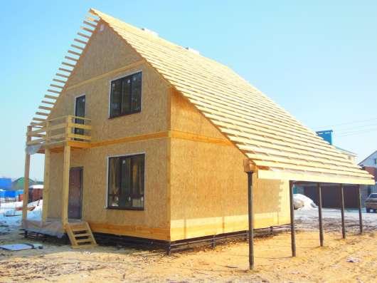 Строительство, проектирование и производство домов в Уфе Фото 1