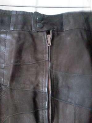 Продам кожаную юбку недорого