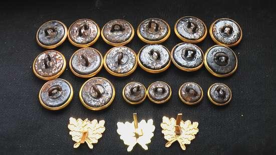 Комплект пуговиц егеря лесничего СССР эмблемы в Саратове Фото 2