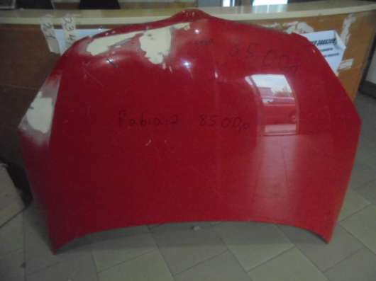 Капот на Шкоду Фабия