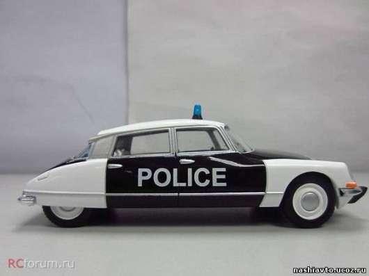 Полицейские машины мира №27 CITROEN ID полиция франции в Липецке Фото 3
