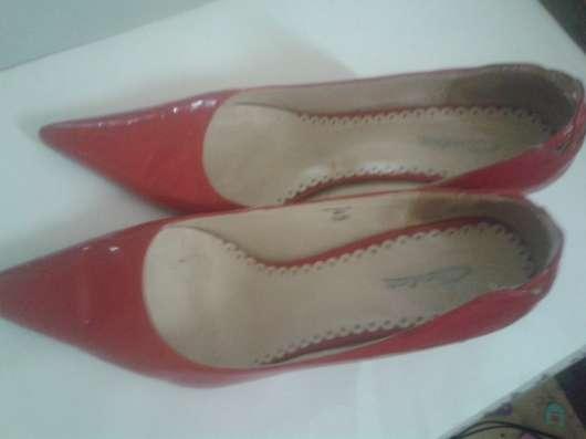 Красные и черные туфли, размер 40 и 41 в Москве Фото 2