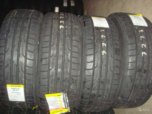 Новые шины dunlop 215/55 R16 Direzza