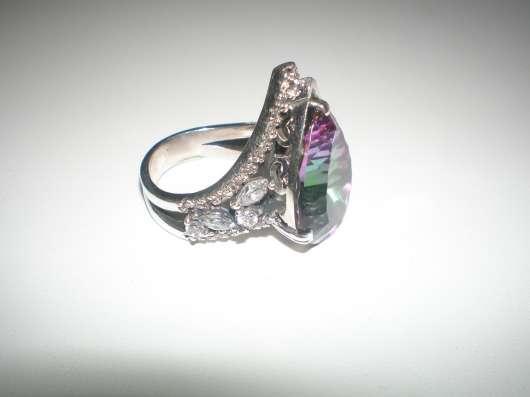 Авторское серебряное кольцо с мистик топазом17 размера. в г. Харьков Фото 2