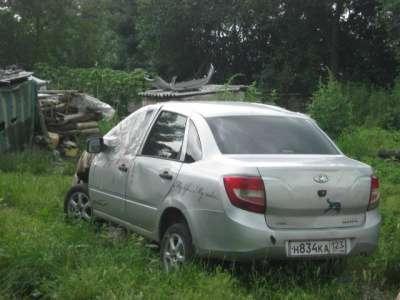 битый автомобиль ВАЗ 2190 Granta, цена 85 000 руб.,в Краснодаре Фото 3