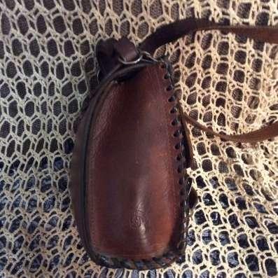 Сумка из буйволиной кожи ручной работы универсальная в Москве Фото 4