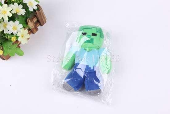 Мягкая игрушка Зомби (Майнкрафт)