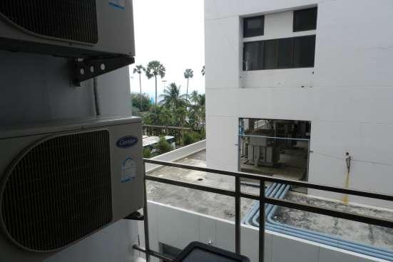 Люкс апартаменты у моря и пляжа Джомтьен. Размещение 3 чел