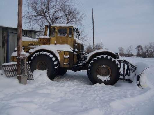 Колесный бульдозер К-701
