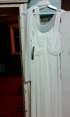 Вечернее (свадебное платье)