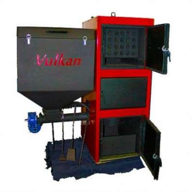 Пеллетный котел Vulkan Eko 200 кВт в Екатеринбурге Фото 1