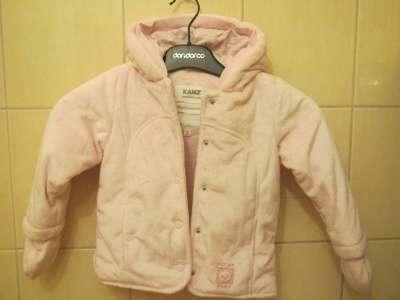 Теплая куртка на девочку KANZ 18 месяцев