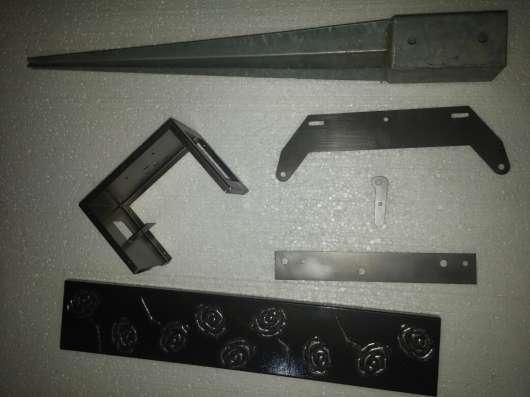 Изготовление различных металлоизделий по чертежам заказчика