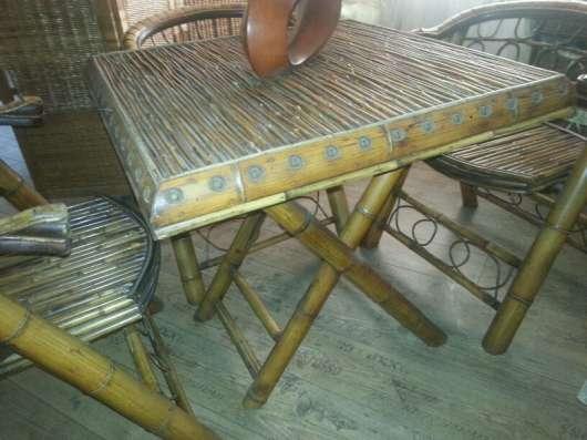 Бамбуковая мебель в Краснодаре Фото 5