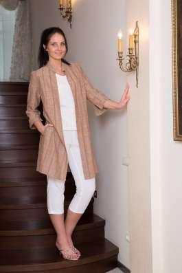 Туника женская 100% лен вышивка стежок марки LOOK
