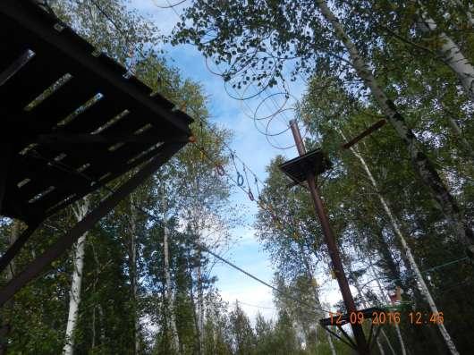 Веревочный парк, экстрим парк развлечений в Екатеринбурге Фото 4