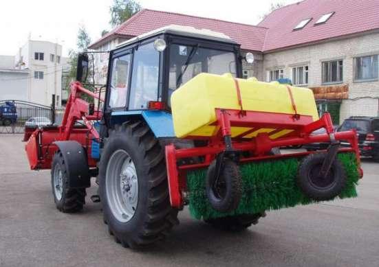 Оборудование щеточное УМДУ-80/82-02 поливо-моечное бак 500 л