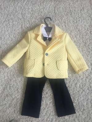 Очень стильные детские костюмы фирмы Krasnal размер 86