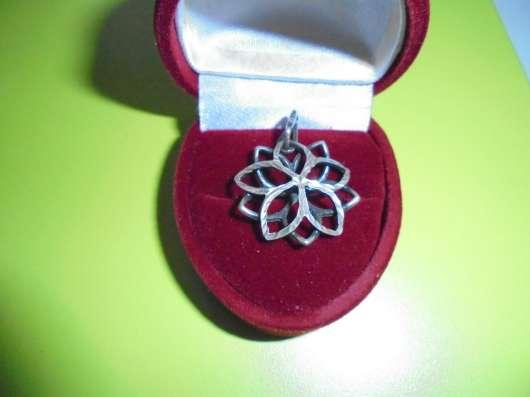 Комплект : кольцо + кулон, серебро 925 в Москве Фото 4