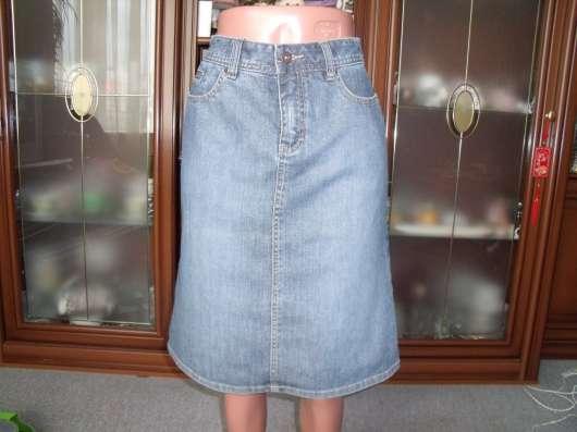 Джинсовая юбка HM р.44 новая
