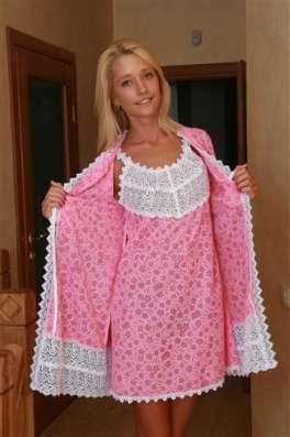 Сорочки из батиста и трикотажа