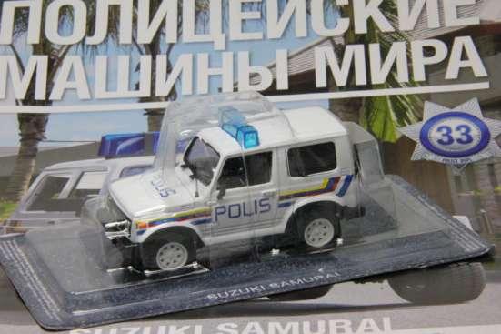 Полицейские машины мира №33 SUZUKI SAMURAI полиция малайзии в Липецке Фото 1