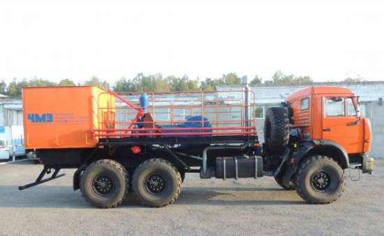 Агрегат цементировочный ЦА-320