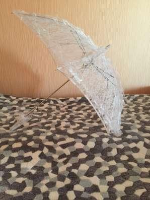 """Свадебный аксессуар """"Зонтик для невесты"""""""
