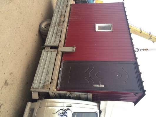 Бытовка (вагончик) для строителей. Доставка бесплатная