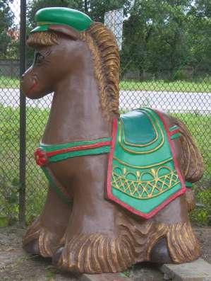 Фигура для детской площадки ослик
