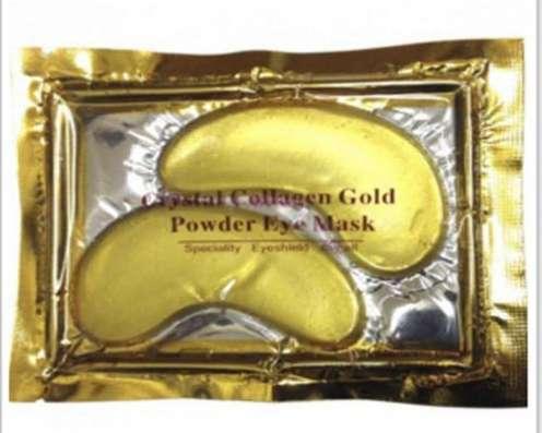 Коллагеновая маска от мешков под глазами Collagen Gold Cryst