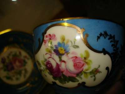 Старин.чашка и тарелочка,фарфор,живопись в Санкт-Петербурге Фото 4