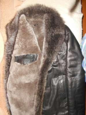 кожаную куртку кожа размер 54 - 56