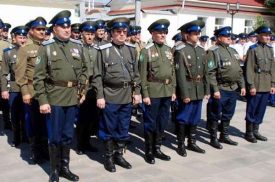 Форменное одежда оренбургских казаков парадный китель