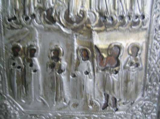 Cтаринную икону-Покрова Пр.Богородицы-XIXв в Москве Фото 3